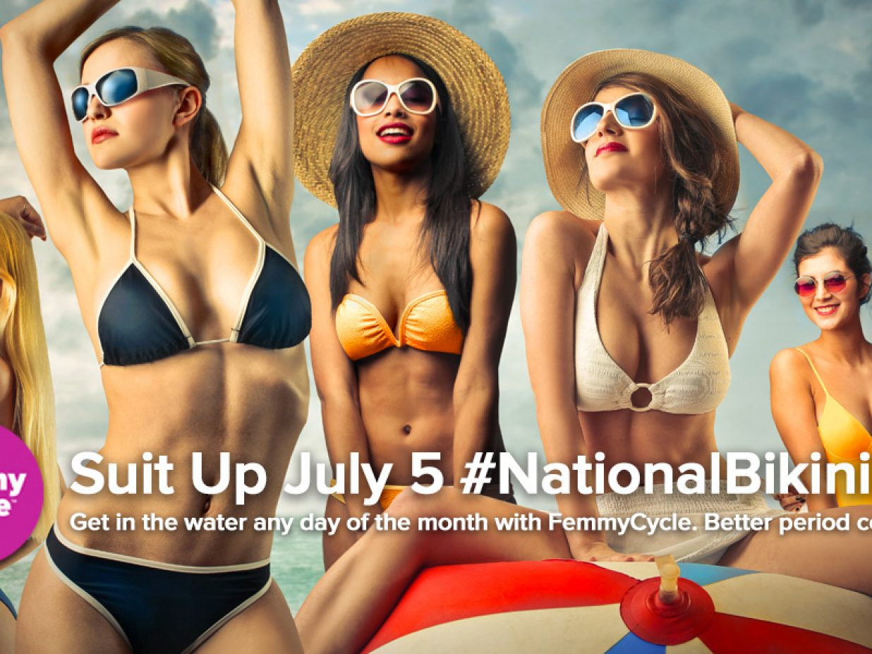 FemmyCycle Celebrates National Bikini Day July 5