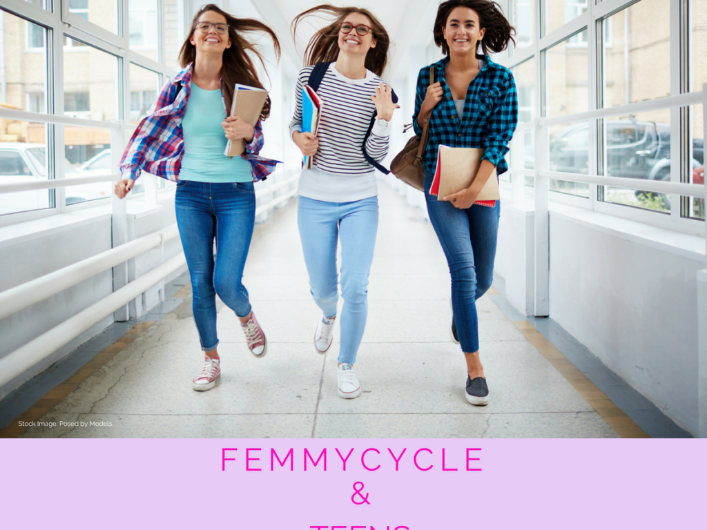 FemmyCycle and Teens: Yes, teens can use a menstrual cup!
