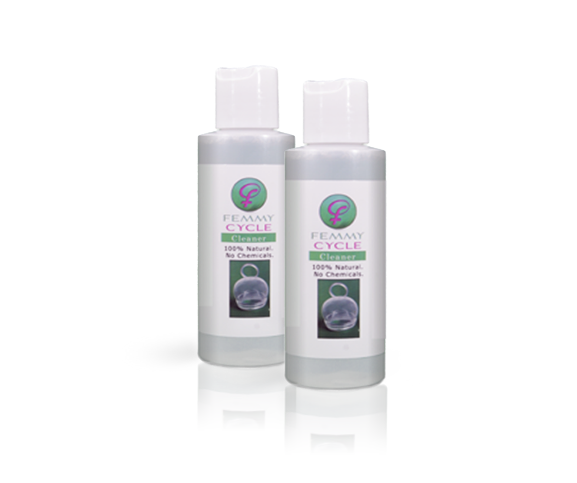 FemmyCycle Cleaning Solution-2Pack